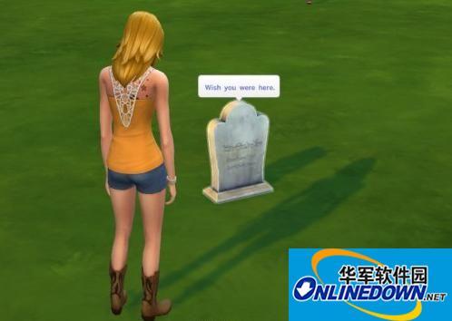 《模拟人生4》可购买的墓碑 1