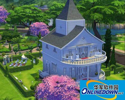 《模拟人生4》婚礼用浪漫房屋