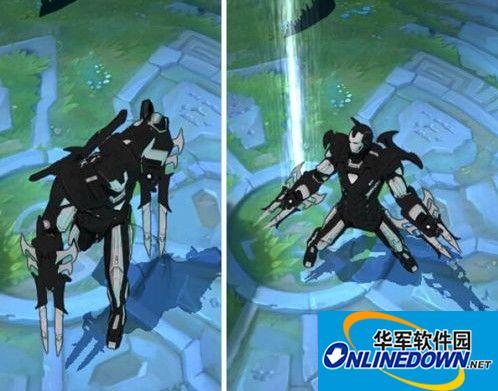 《英雄联盟》黑暗钢铁侠劫皮肤MOD 1