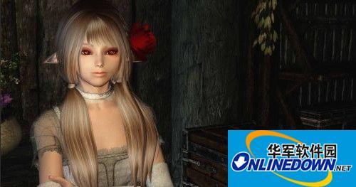 《上古卷轴5:天际》N网可爱美女利奥诺拉随从MOD