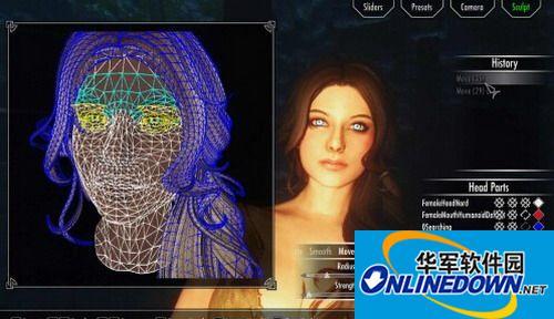 《上古卷轴5:天际》捏脸系统v3.0 汉化版