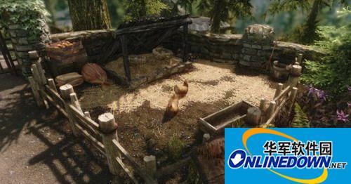 《上古卷轴5:天际》超精致小磨菇房屋+庭园V1.01