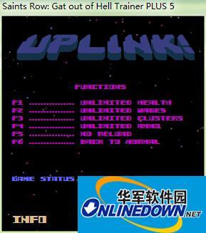 黑道圣徒:杀出地狱 v1.0五项修改器Uplink版 1