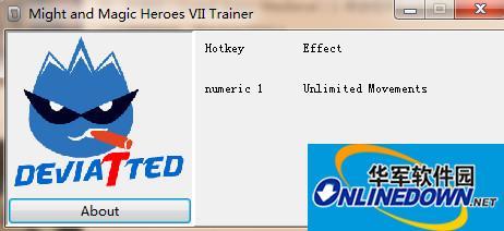 魔法门之英雄无敌7无限移动点修改器1.0 DEViATTED版