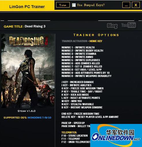 《丧尸围城3》v1.6二十六项修改器(支持Win10) 1