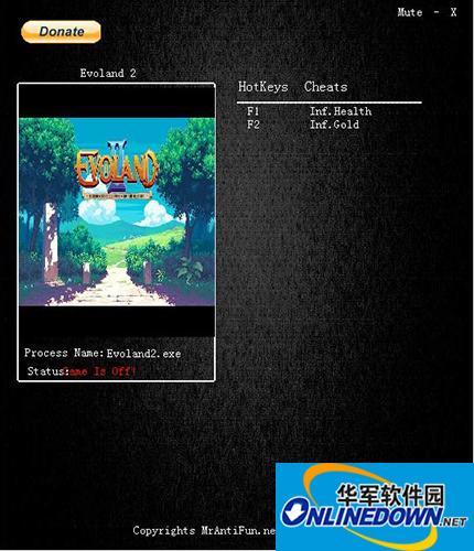 游戏进化史2v1.0.9106修改器+2 MrAntiFun版 1