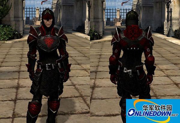 《龙腾世纪2》龙骑士护甲套装