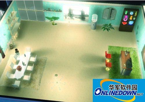 《模拟人生3》浪漫满屋 40*40 经济实用