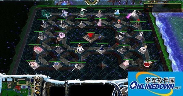 魔兽争霸3冰封王座 校园修神录II 2.88 异变