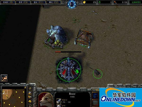 魔兽争霸3冰封王座 猫和老鼠4.30正式版