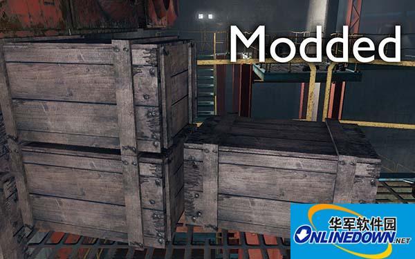 辐射4 更好的板条箱材质MOD