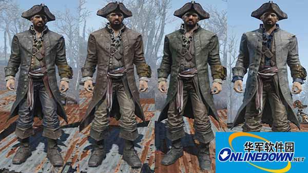 辐射4 海盗之王杰克斯派洛服装MOD