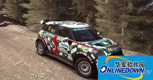 尘埃拉力赛 MINI WRC P.Nobre 2012版涂装MOD
