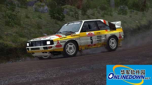 尘埃拉力赛 HB Audi 1984 DiRT Rally版涂装MOD