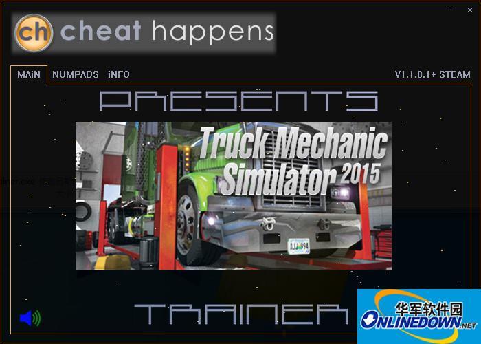 卡车修理工模拟2015 v1.1.8.1金钱修改器[CH]