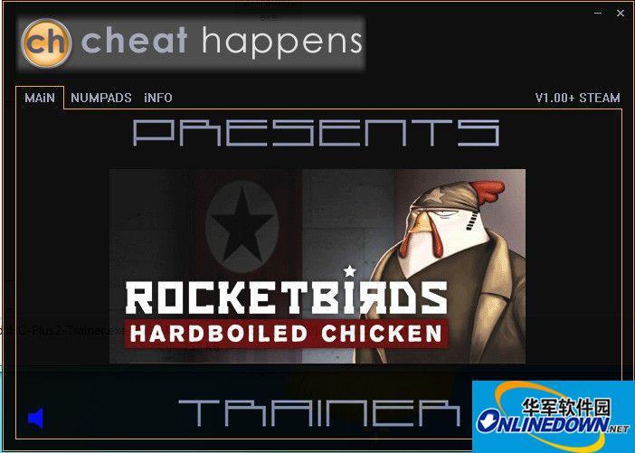 火箭鸟:铁汉雄鸡两项修改器v1.0