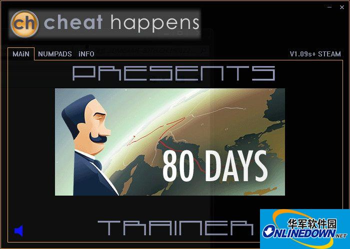八十天环游世界两项修改器 1