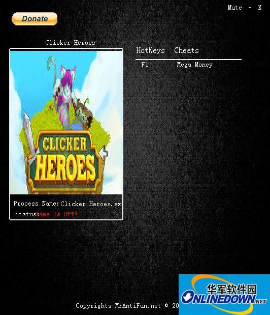 点击英雄金钱修改器v0.23 1
