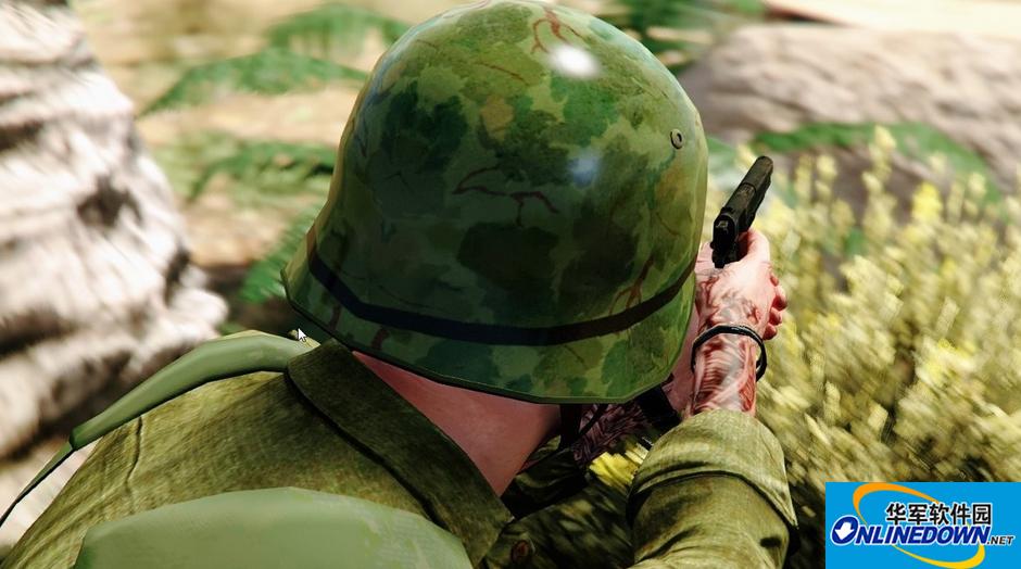 GTA5二战美军服装MOD