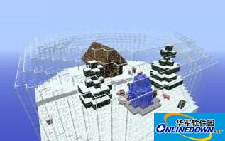 我的世界雪晶空岛建筑存档
