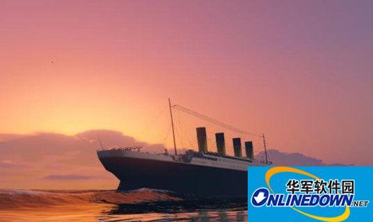 侠盗猎车手5泰坦尼克号MOD