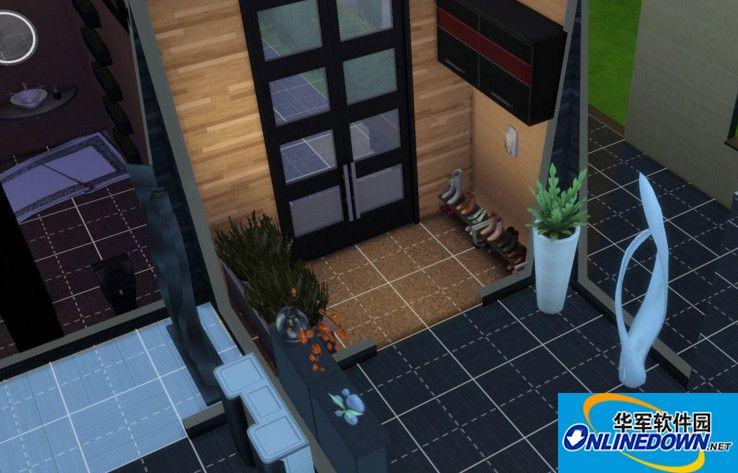 模拟人生4小土豪别墅MOD