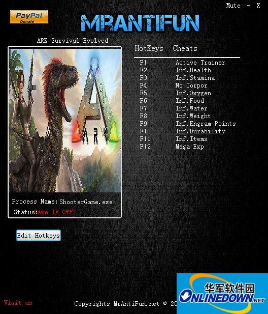 方舟:生存进化十项修改器v235.0 1