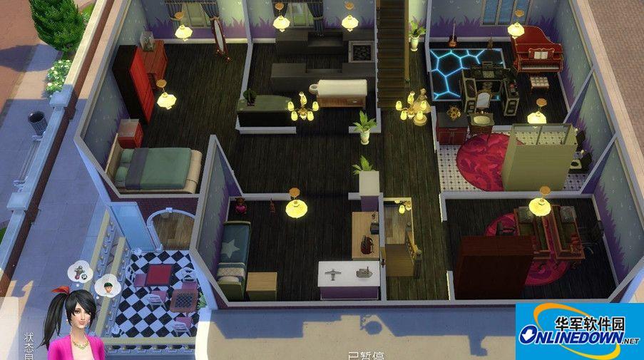 模拟人生4自建小别墅MOD