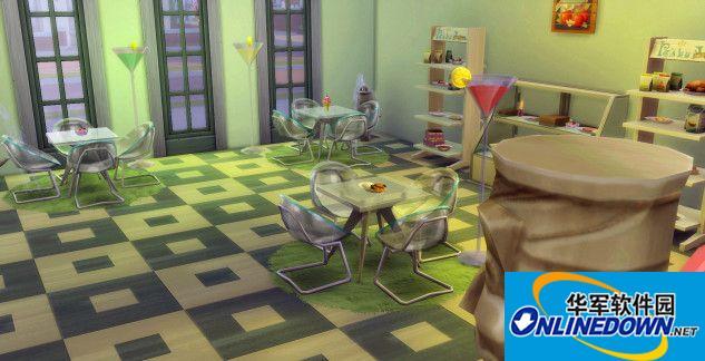 模拟人生4 绿色小餐厅MOD
