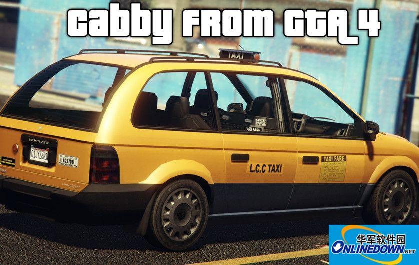 GTA5 GTA IV的Schyster出租车MOD 1