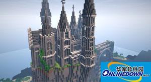 我的世界建筑地图 被遗弃的加勒比城堡
