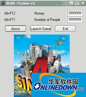 模拟城市4豪华版人口金钱修改器