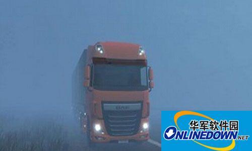 欧洲卡车模拟2酷炫财迷车头MOD