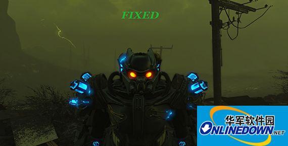 辐射4 英克雷X02动力甲MOD