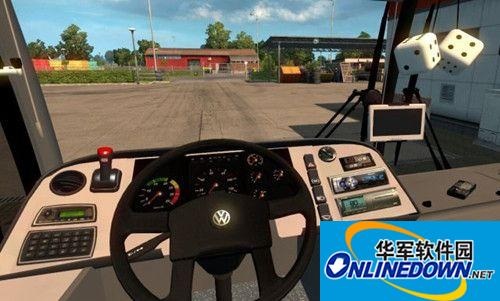 欧洲卡车模拟2客运模式MOD