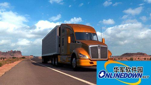 美国卡车模拟国际拖车MOD