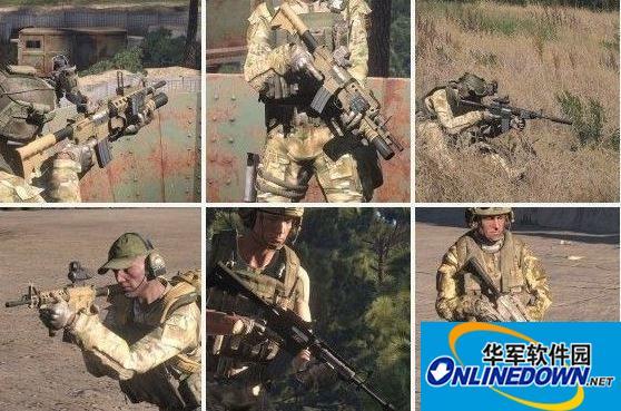 武装突袭3 美国大兵必备!m4武器包mod