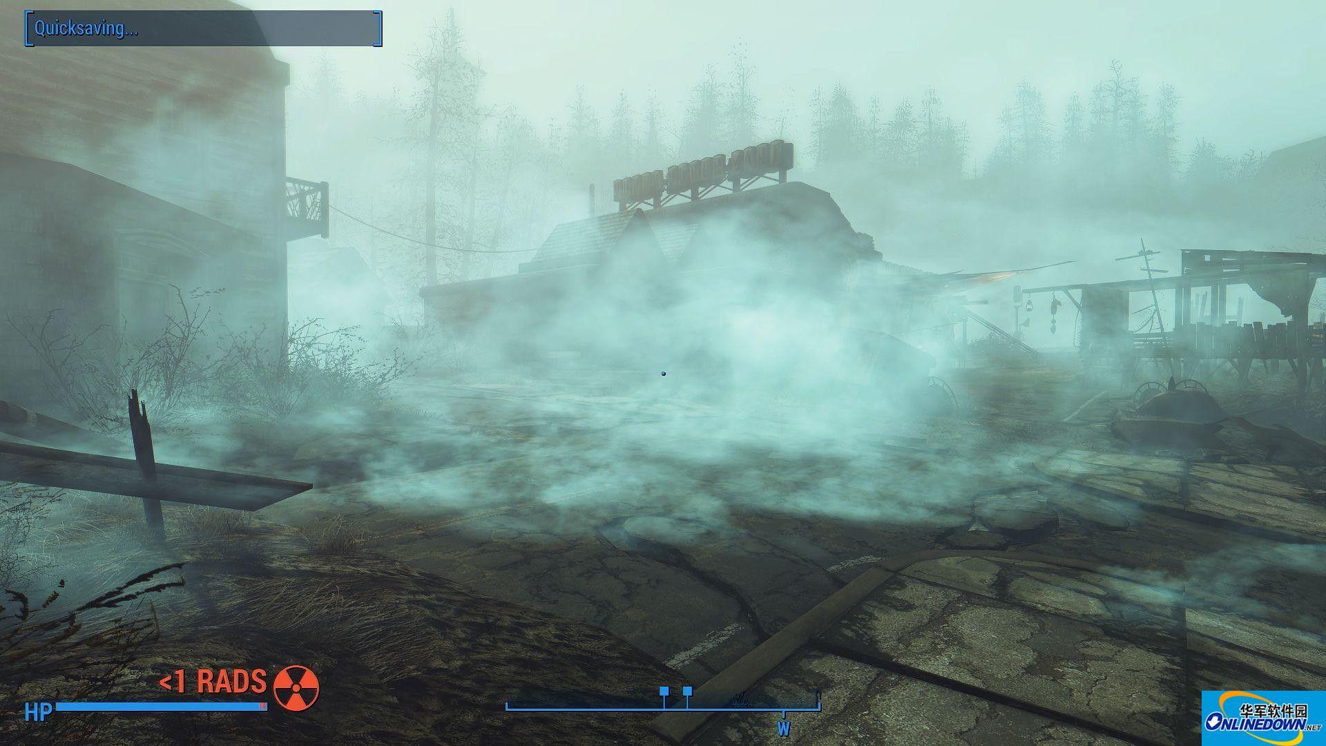 辐射4远港DLC消除部分烟雾MOD