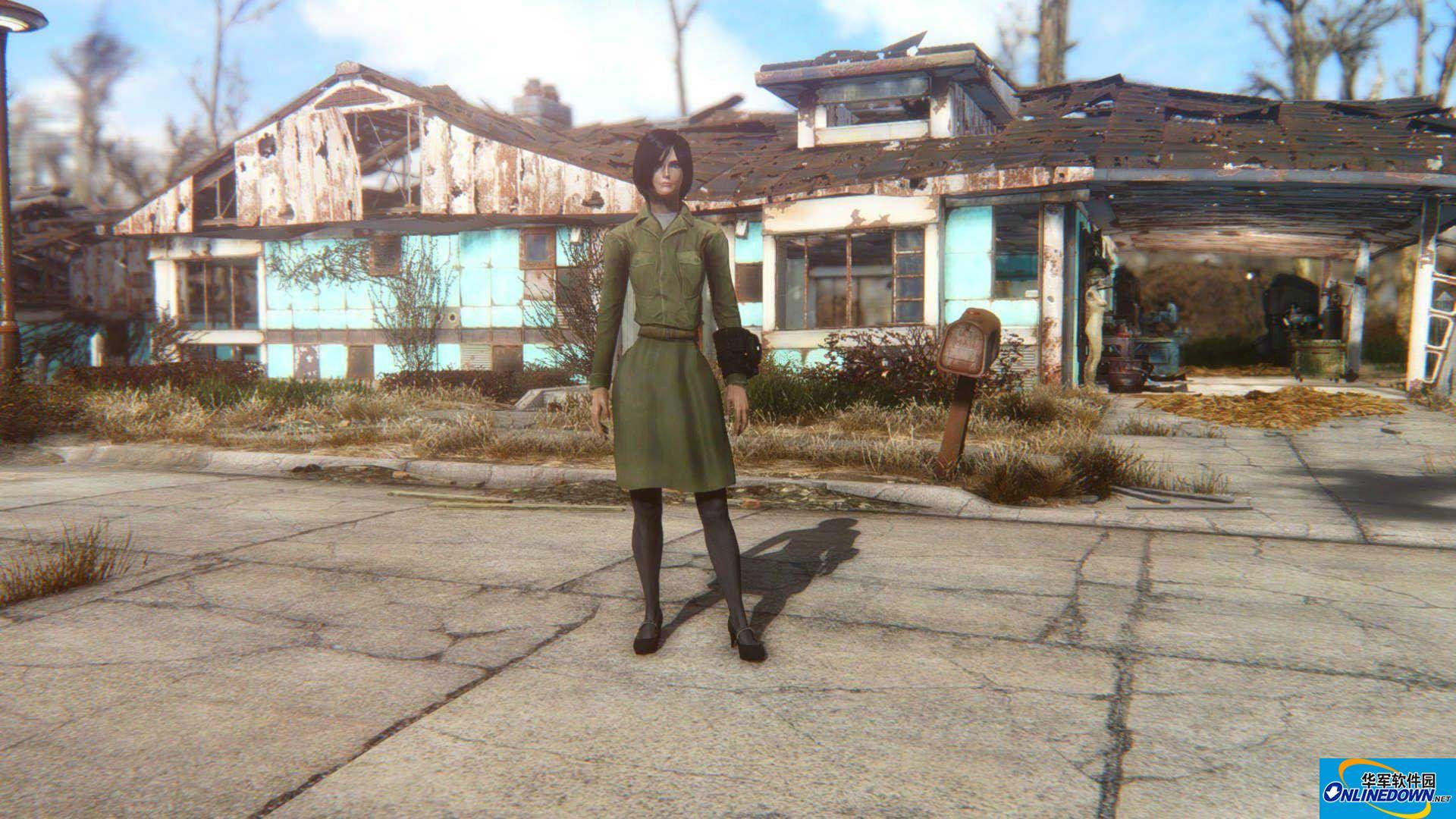 辐射4二十世纪50年代女装MOD
