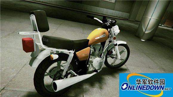 GTA5帅气的铃木摩托车MOD 1