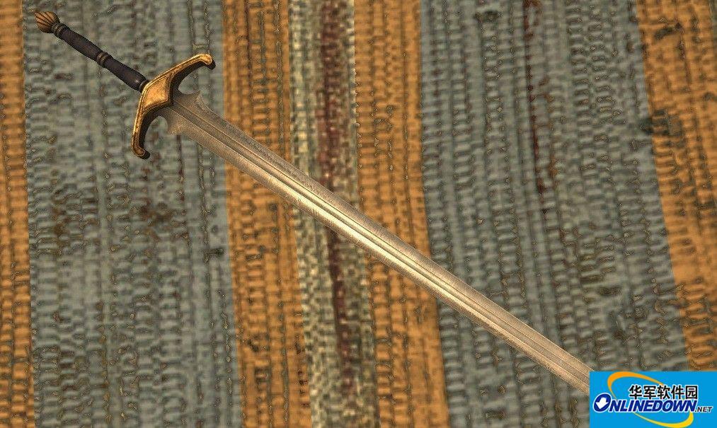 上古卷轴5天际重制版德雷克骑士剑MOD