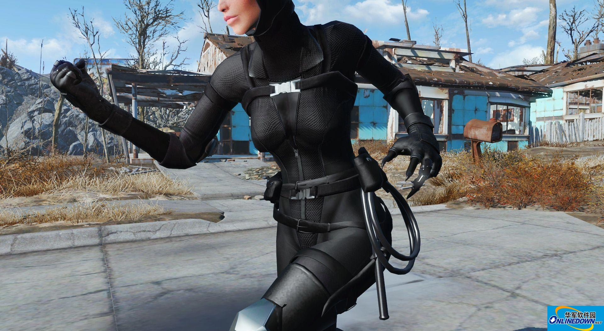 辐射4性感猫女套装MOD