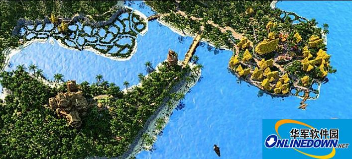 我的世界SELAKYN群岛史诗大冒险地图