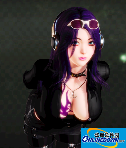 HoneySelect紫发御姐存档