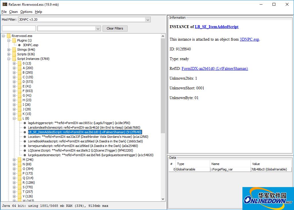 上古卷轴5天际重制版FallrimTools存档编辑器v2.9.4