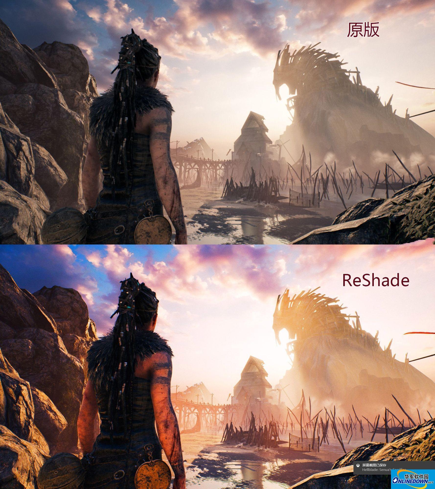 地狱之刃塞娜的献祭ReShade画质补丁