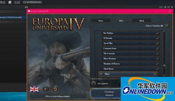 欧陆风云4v1.22未加密版全DLC联机补丁 1