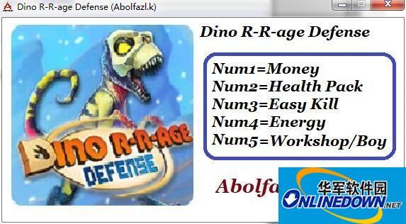 恐龙时代塔防五项修改器[Abolfazl.k] v1.0