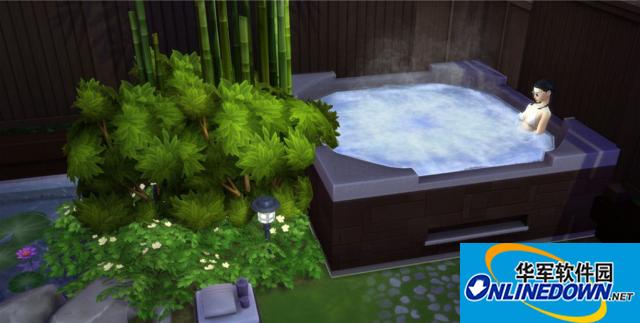 模拟人生4v1.31古典风极道日式庭院MOD