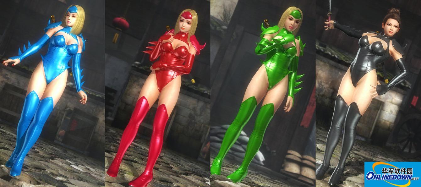 死或生5:最后一战MIZUKI忍者姐妹紧身套装MOD